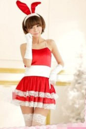 Saucy Style Fashionable Cosplay Uniform Red WH MM11090819